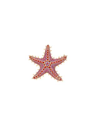 Sea Star – Spinel, Sapphire, Ruby, Amethyst