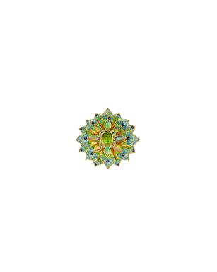 Anemone – Sphene, Opal, Zircon, Sapphire, Tsavorit